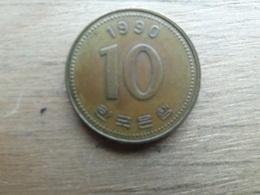 Koree Du Sud  10 Won  1990  Km 33 - Corée Du Sud
