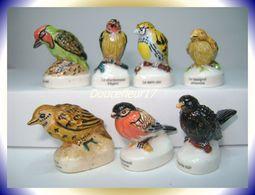 Oiseaux De Jardin .. 7 Fèves   ..Ref AFF: 75-2004...(pan 0020) - Animals