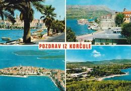 Postcard Pozdrav Iz Korcule Korcula Croatia My Ref  B22317 - Croatia
