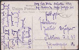 Türkei Deutsche Feldpost 663 Nazereth Palestine 1918 Germany Levant PC - Germany Levant Turkey - Palestine