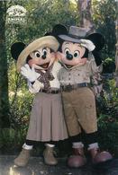 2 POSTCARDS OF DISNEY  P83-4 - Disneyworld