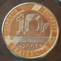 10 F 2001   Génie Rare - France