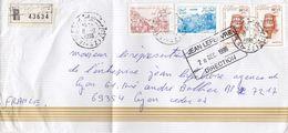 LETTRE COVER ALGERIE RECOM BEN AZIZ - Algeria (1962-...)