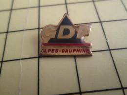 Pin812g Pin's Pins / Rare Et De Belle Qualité !!! EDF-GDF : ALPES DAUPHINE GDF - EDF GDF