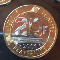20 F 2001    Rare - L. 20 Francs