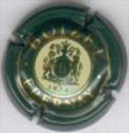 CAPSULE MUSELET CHAMPAGNE BOIZEL N° 6  (blanc Et Or Sur Vert Foncé) - Duval-Leroy
