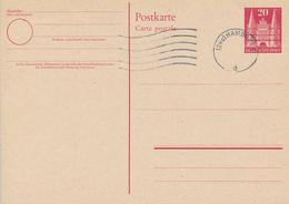 HAMBURG  - 1948 ? ,  HOLSTENTOR ,    Postkarte  , Post Card - BRD
