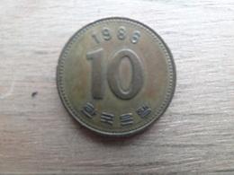 Koree Du Sud  10 Won  1986  Km 33 - Corée Du Sud