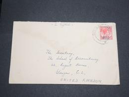 SINGAPOUR - Enveloppe De Singapour Pour La Grande Bretagne -  L 13632 - Singapore (...-1959)