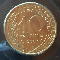 10 C 2001    Rare - D. 10 Centimes