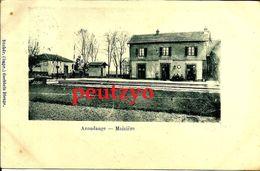 CPA 57   Azoudange  Maiziere Gare 12/18 - Altri Comuni