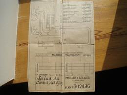 Plan Gazogène Panhard Et Levassor 1942 - Voitures
