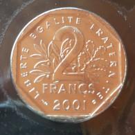 2 F 2001    Rare - I. 2 Francs