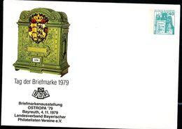 BRIEFKASTEN WÜRTTEMBERG 1877 Bund PU110 C1/003 Privat-Umschlag ** 1979 - Post