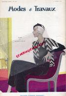 REVUE MODES & TRAVAUX-1 FEVRIER 1932-N° 29-BOUCHERIT- SKI BEBE NESTLE-JEANNE LANVIN-DAVID-WORTH-BURBERRYS-ROUFF-WECLA- - Fashion