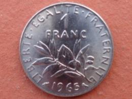 SPLENDIDE 1 FRANC 1965 GROSSE CHOUETTE - H. 1 Franco