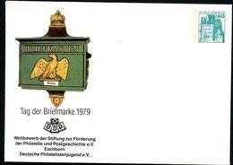 BRIEFKASTEN PREUSSEN 1860 Bund PU110 C1/004a Privat-Umschlag ** 1979 - Post