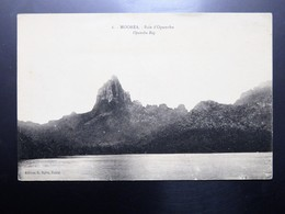C.P.A. TAHITI MOOREA : Baie D'Opunohu, En 1925 - Tahiti