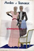 REVUE MODES & TRAVAUX-1 OCTOBRE 1932-N° 307-BOUCHERIT- LAINES BON PASTEUR SAINT EPIN-JENNY-WECLA-LELONG-WORTH-GOUPY- - Fashion