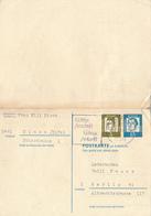 ULMEN - 1967 , Martin Luther , Postkarte Mit Rückantwort , Reply Post Card  Nach Berlin - BRD