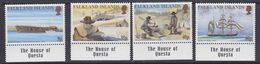 "Falkland Islands 1999 Californian Gold Rush 4v  (+margin ""The House Of Questa"" ) ** Mnh (37716) - Falklandeilanden"