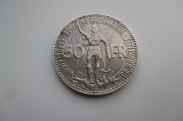 Belgique 50 Francs 1935  Wereldtentoonstelling FR - 1934-1945: Leopoldo III