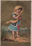 Chromo à Fond Doré/Chapeaux/La Cigale Et La Fourmi/Maison Noblesse/Briois/rue Du Jeudi/ALENCON/Herpin/ Vers 1880  IMA396 - Cromo