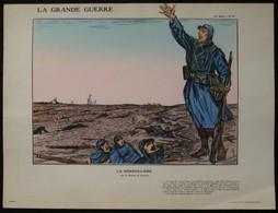"""ESTAMPE COULEUR - LA GRANDE GUERRE 14/18 - PLANCHE N°47/2eme SERIE """"LA MARSEILLAISE"""" - Collections"""