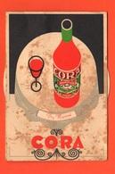 Cocktails Cora Torino Cartoncino Con Disco Per  Vari Cocktails  Pubblicità Cora Liquori - Swizzle Sticks