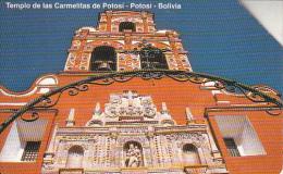 BOLIVIA(Urmet) - Templo De Las Carmelitas De Portosi, Used - Bolivia