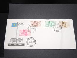 CONGO - Enveloppe FDC De L 'Indépendance Du Congo En 1960-  L 13640 - République Du Congo (1960-64)