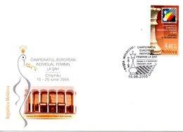MOLDAVIE. N°446 De 2005 Sur Enveloppe 1er Jour. Echecs. - Scacchi