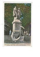 Cpa CHAMBERY - Monument Des Frères Joseph Et Xavier De Maistre - Ernest Dubois - Statue Femme Vélo Bicyclette 1935 - Skulpturen