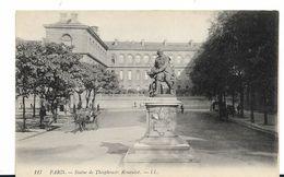 75  PARIS   STATUE THEOPHRASTE RENAUDOT  LL 117 - Statues