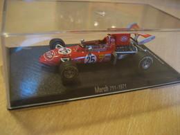 MARCH 711 - 1971 Aprox. 8x4,5 Cm Boxed Vintage Miniature Auto Car F1 Robin Herd Ltd. Good Condition - Jouets Anciens