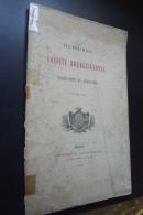 Memoires  Societe Bourguignonne De Geographie Et D'histoire T XII 1896 - Libri, Riviste, Fumetti