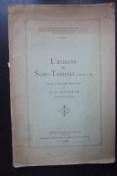 L'eglise De St Thibault  ( Cote D'or )vittenet 1928 - Boeken, Tijdschriften, Stripverhalen