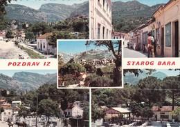 Postcard Pozdrav Iz Starog Bara [ Stari Bar ] Montenegro My Ref  B22320 - Montenegro