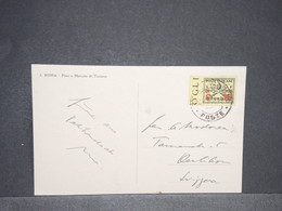 VATICAN - Affranchissement Du Vatican Sur Carte Postale En 1932 -  L 13649 - Vatican