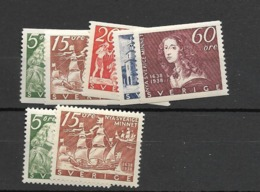 1938 MNH Sweden Postfris - Nuovi