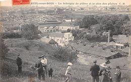 Métier  Carrières  Diverses    Montreuil Sous Bois  93     Fabrique De Plâtre         (voir Scan) - Mijnen