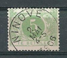 TX 3 Gestempeld NINOVE - COBA 2 Euro - Postage Due