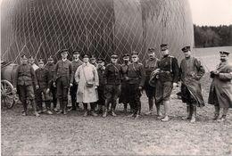 Auguste Et Jean Piccard Aérostiers Armée Suisse - 1915 - Reproductions