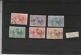 Espagne - Yvert  236 à 241 Oblitérés Dentelés 11 1/2 - Attention 236 Abimé En Bas - 1889-1931 Kingdom: Alphonse XIII
