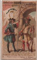 Chromo/Militaria/Drapeau Régt De BRETAGNE/Chapellerie Moderne/Goulliaud/Bd Voltaire/Paris/Vieillemard/Vers 1900  IMA400 - Cromo