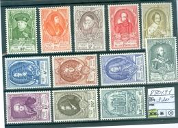 880-891  Xx - Neufs