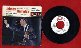 JOHNNY HALLYDAY  -EN PUBLIC  CONCERT DE ROCK 1965  DEPUIS QU MA MOME  BIEN TROP TIMIDE  OUI J AI  TUTTI FRUTTI   POX 42 - Rock