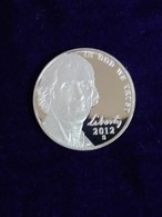 2012 Proof Jefferson Nickel - Federal Issues
