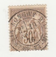 France N° 69 SAGE Type I 30 C Brun Clair - 1876-1878 Sage (Typ I)