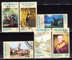 Nicaragua 1975-Indipendenza -Serie Non Completa Usata - Nicaragua